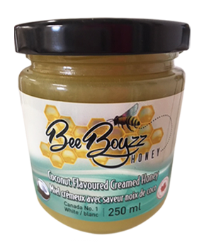 Bee Boyzz Flavoured Honey Jar Coconut