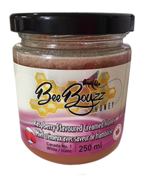 Bee Boyzz Flavoured Honey Jar Raspberry