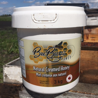 Bee Boyz Creamed Honey 3kg Tub