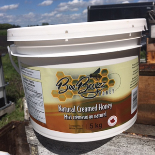 Bee Boyz Creamed Honey 5kg Tub