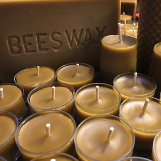 Bee Boyzz Honey Beeswax Candles 1